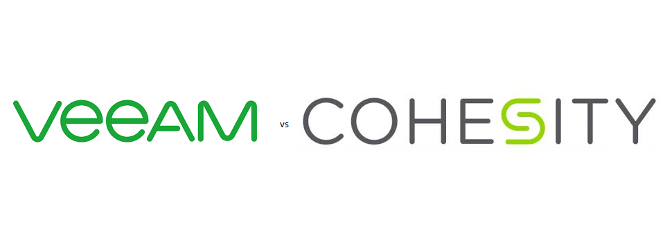 Cohesity vs. Veeam compared: storage usage